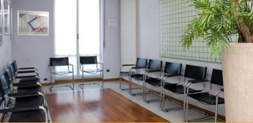 Sala d'attesa Studio Simion